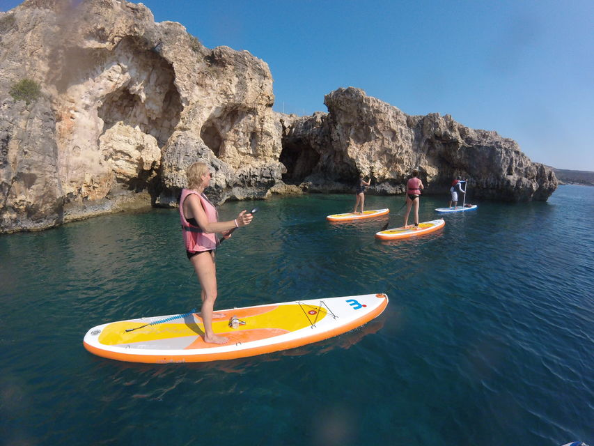 Chania: Stand-Up Paddleboard & Snorkeling Small Group Tour
