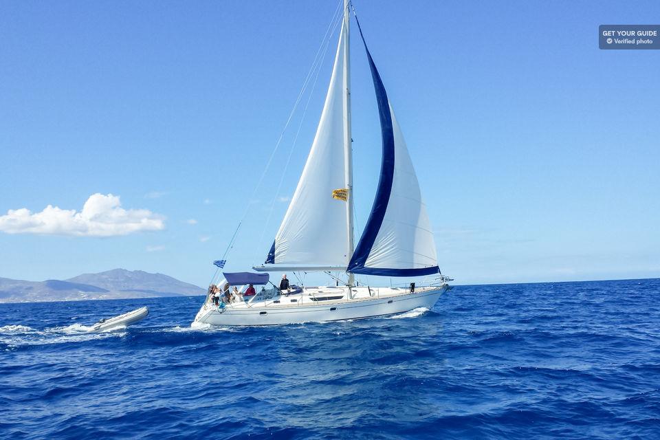 Yacht Cruise to Rhenia Island & Guided Tour of Delos , Mykonos
