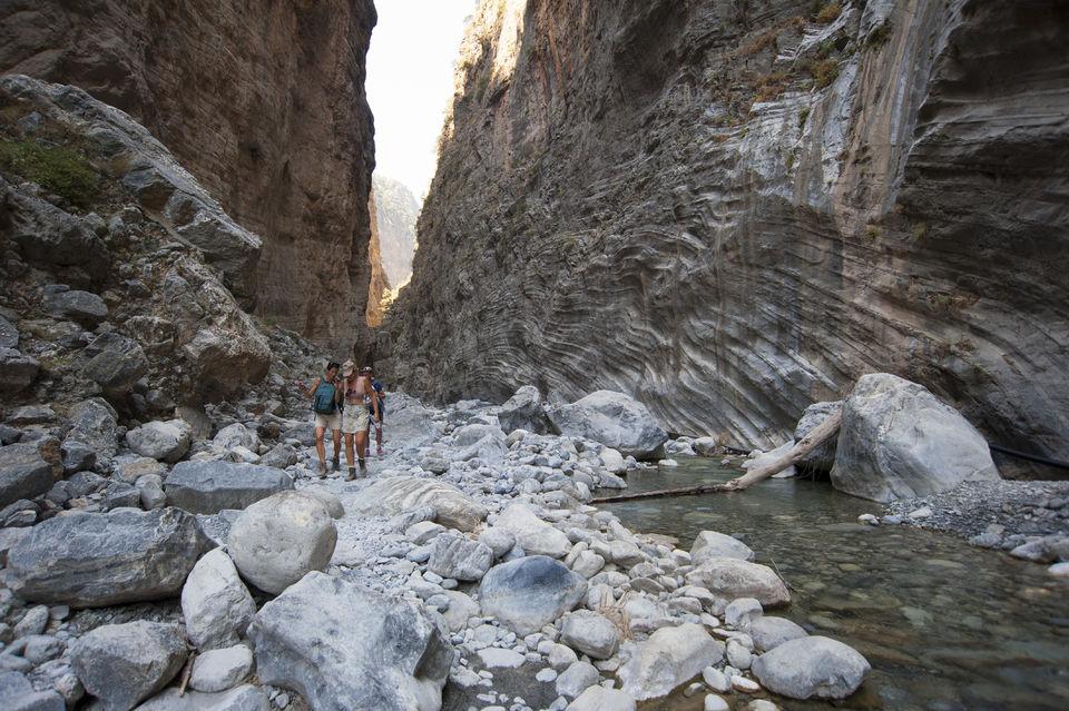 Samaria Gorge: Day Trip from Agia Pelagia, Heraklion & Malia